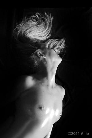 finalita Allio original topfree portrait of life model Caramella Domenica nude muse