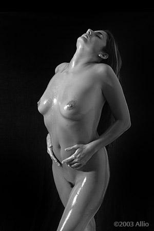 agitata figura intima Allio originale arte fotografia di Melissa Penn musa nuda