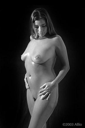 compiacenza indulgenza Allio originale arte fotografia di Melissa Penn musa nuda