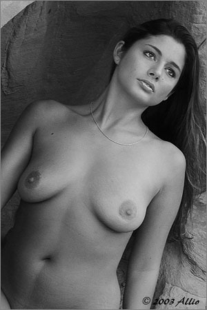 precious Allio nuda di Melissa Penn